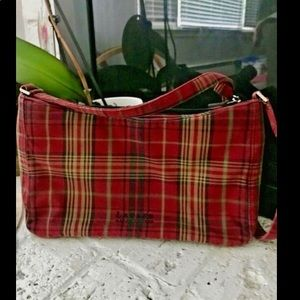 Ralph Lauren Vintage Plaid Handbag